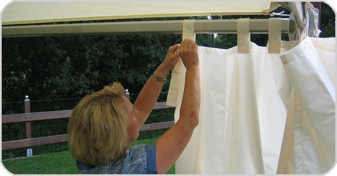 Montage Seiten Textil