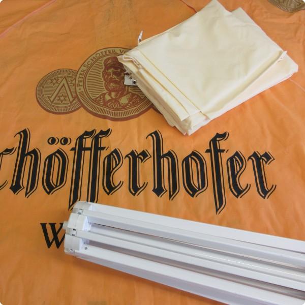 Schöffehofer Weizen® kompatibler Ersatzbezug für Werbeschirm