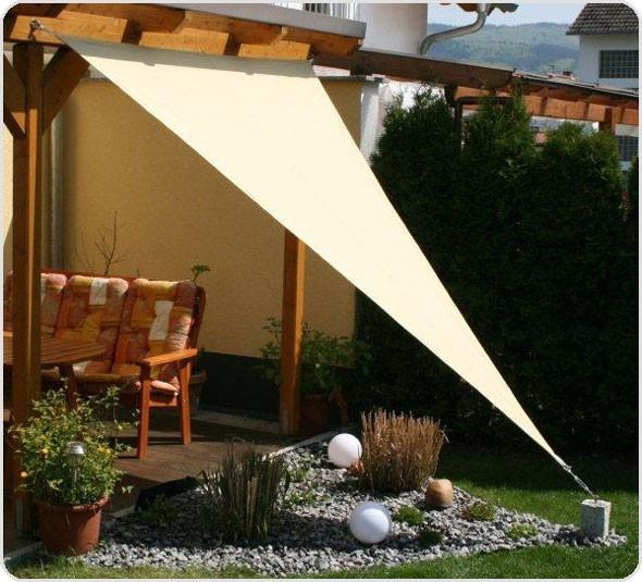 Sonnensegel Triangel 500 x 500 x 500 [cm]