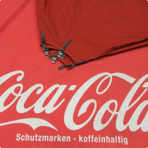 MDT-tex® Ersatztextil für Coca Cola Schirm