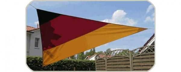 Sonnensegel Deutschland 360 x 360 x 360 [cm]